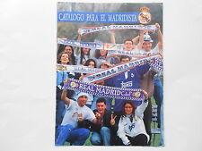 Real Madrid década de 1990 catálogo de tienda de recuerdos?