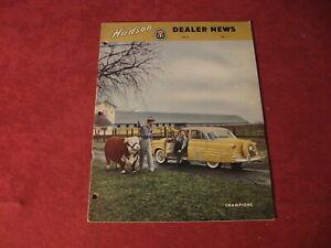 1954 Hudson Dealer News Sales Brochure old Catalog Booklet Book