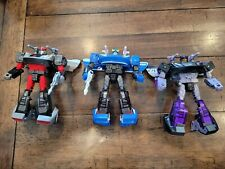 Transformers Siege WFC  Smokescreen Bluestreak and Barricade Lot