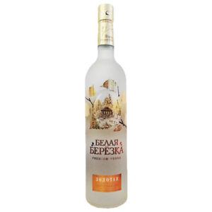Vodka White Birch Gold 0,5L russischer Premium Wodka mit Birkensaft