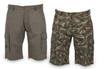 FOX Chunk NEW Light Weight Cargo CAMO Shorts / Carp Fishing - All Sizes