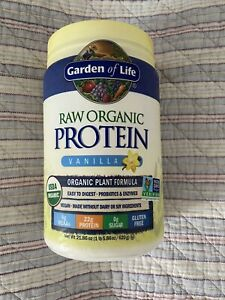 Garden of Life - Raw Organic Protein Powder - Vegan - Vanilla
