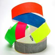 100 Eintrittsbänder Kontrollbänder Eventbänder Einlassbändchen Vip Bänder uni