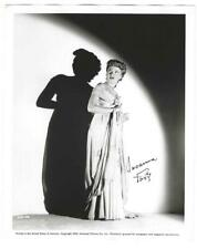 1943 PHANTOM OF THE OPERA 8x10 AD Portrait SUSANNA FOSTER Stands Frightened