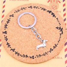 Dashchund Key Chain Doxie Sausage Dog Keyring Gift