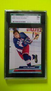 Teemu Selanne 1992-93 Fleer Ultra SGC 96 Mint Winnipeg Jets Ducks Sharks HOF