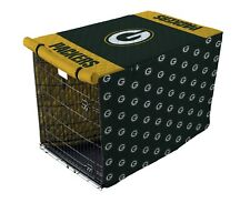 NFL Green Bay Packers Quilted Pet Crate/Cage Cover in Sizes Large or X-Large