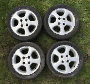 "Rare Genuine Peugeot 306 S16 / 405 Mi16 Le Mans 15"" Alloy Wheels GTI 205 XSI"