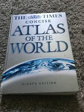 The Time Concise Atlas Of The World Book Hardcover Vgc 8th Edition