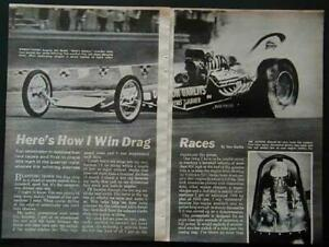 Big Daddy Don Garlits How I Win Drag Races 1965 article