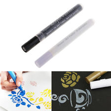 2 set Acrylic Paint Markers Art Permanent Painting Metal Glass Markers Pens