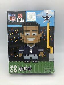 Dallas Cowboys NFL Dak Prescott Player BRXLZ Puzzle - New in Damaged Box