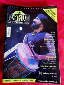 WORLD MUSIC Rivista musicale Lotto di 12 numeri dal 1981 al 2001