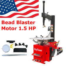 Mayflower 1.5 HP Tire Changer Wheel Changer Machine 980 Bead Blaster Red Edition