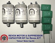 Revox A77 'deluxe' motor & suppressor capacitor kit