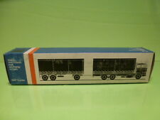 LION CAR 74 DAF TRUCKS 3300 TRAILER - 1:50 GOOD * ONLY EMPTY BOX * (23)