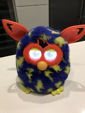 Furby Boom Interactive Toy Lightning Bolts Yellow Used Electronic Hasbro 2012