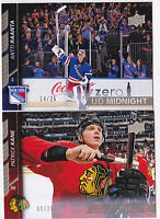15-16 Upper Deck Patrick Kane /25 UD Midnight Blackhawks 2015