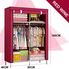 Clothes Closet Large Portable Wardrobe Storage Cabinet Organizer with Shelves