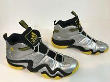 1d522de7512 Adidas Crazy 8 Mens Basketball Shoes Size 12 Metallic Silver Yellow Black