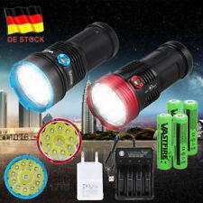 Superhelle taktische LED-Taschenlampe Taschenlampe 10T6 / 12T6 W/ Batterie 18650