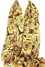 Rosen-Schals aus Viskose/Rayon für Damen