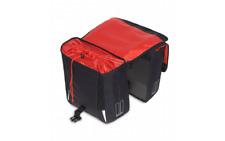 Doppelpacktasche Basil 32 Liter Sport Design Schwarz Fahrrad Gepäckträger Tasche