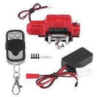 RC Crawler Winch Receiver Set Red For 1/10 Scale Traxxas HSP Redcat Car Vehicle