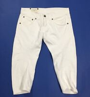 Dondup music shorts jeans bermuda donna usato w28 tg 42 strappi destroyed T3792