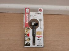 TREND SNAPPY 35MM X 80MM  FORSTNER DRILL BIT WITH HEX SHANK SNAP/FS/35