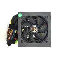 550W Large Single Fan w/ Grill ATX Power Supply Unit Quiet Cool BLK PC System