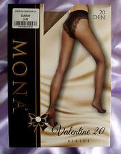 MONA Valentine Italian Super Sexy Bikini Panty Tan Pantyhose Tights Medium