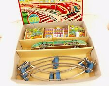 JOYAX FRANCE Coffret autorail en tôle lithographiée locomotive train gare RARE