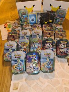 Pokemon XXL Sammlung Über 250 Karten, Celebrations, Glurak, Quajutsu Goldstar...