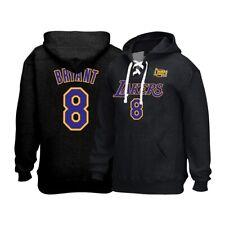 Kobe Bryant Reebok Los Angeles Lakers 2002 finales con Cordones Jersey Sudadera con capucha para hombre