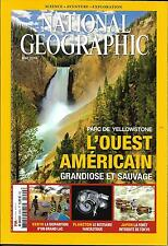 NATIONAL GEOGRAPHIC N°200 MAI 2016  OUEST AMERICAIN/ YELLOWSTONE/ LAC TURKANA