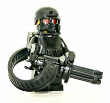 Custom Minigun Trooper Heavy Gunner made with real LEGO® minifigure parts