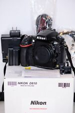 Nikon D810 36.3 MP Digital SLR Camera Black Used Refubished USA Model with box