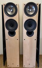 Kef IQ5 Floorstanding Speakers in Maple - Excellent