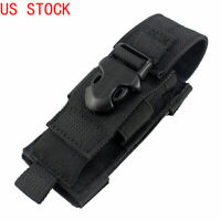 Tactical Utility Tools Holder Flashlight Single Sheath Holster Pistol Mag Pouch