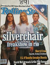 ROLLING STONE 1997 FEB,SILVERCHAIR COVER & FEATURE