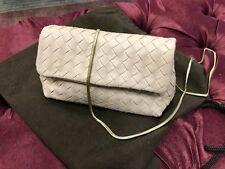 ORIGINALE bottega venetta Rosa Clutch borsa borsa da sera come nuovo