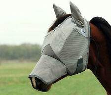 Cashel Fly Mask Long Nose with Ears YEARLING OR LARGE PONY SIZE