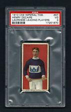 PSA 3 1910 C59 LaCROSSE CARD #87 HENRY DeCAIRE