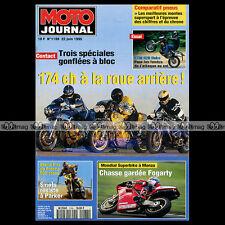 MOTO JOURNAL N°1188 SUZUKI GSX-R 1100 HARRIS & MOKO STREETFIGHTER, KTM 620 DUKE