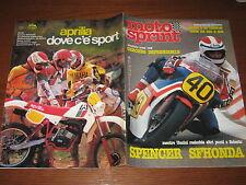 MOTOSPRINT 1982/27 TEST GUZZI V 50 SWM XN 350/506  PUBBLICITA' APRILIA