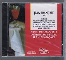 JEAN FRANCAIS CD (NEW) FANTAISIE VARIATIONS HENRI DEMARQUETTE LIVE