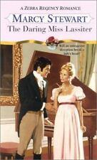 The Daring Miss Lassiter: A Zebra Regency Romance-ExLibrary