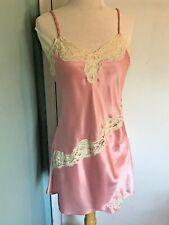 Vintage Victoria's Secret Gold Label Chemise, Pink Lace Sexy Nightgown, Lingerie