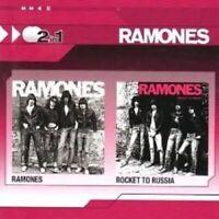 "RAMONES ""RAMONES/ROCKET TO RUSSIA"" 2 CD NEU"